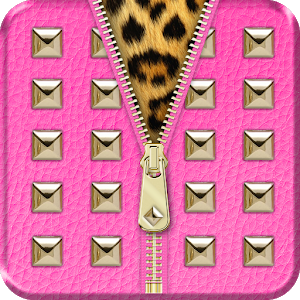 ◘Hot Pink Studded Lock Screen◘ icon