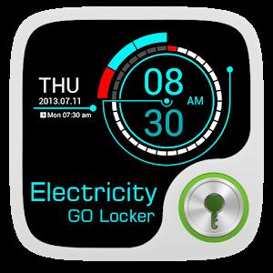GO Locker Theme Electricity icon
