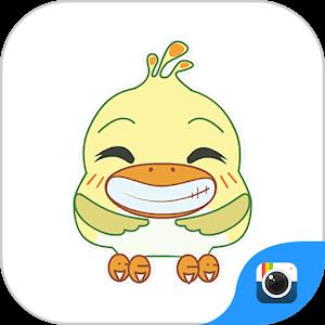 Z CAMERA SILLY BIRD STICKER icon