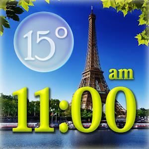 Paris Weather Clock Widget icon
