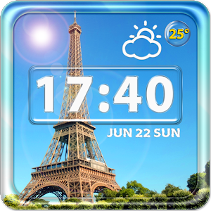 Paris Weather Clock Widget icon