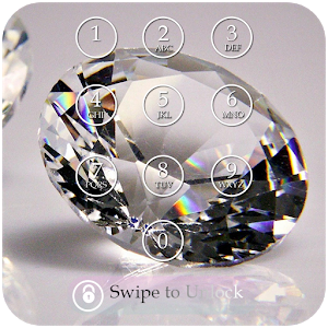 Diamond Keypad Lock Screen icon