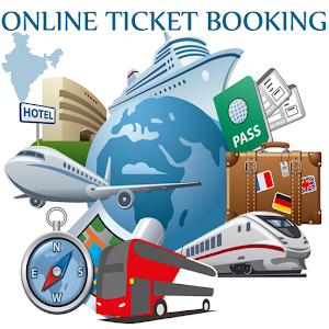 Online Ticket Booking India Icon