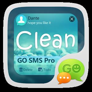 (FREE) GO SMS PRO CLEAN THEME icon