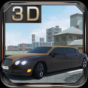 Real Limousine Parking 3D icon