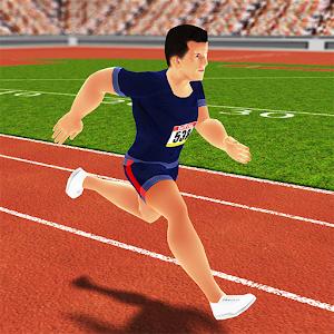 100m Sprint Summer Games 2016 icon