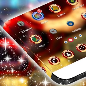 Free Launcher Panasonic p55 Themes mobile9