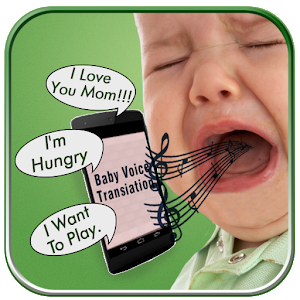 Baby Voice Translator Prank icon