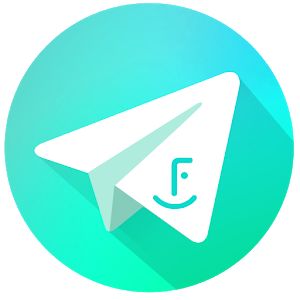 Telegram with Facecon icon