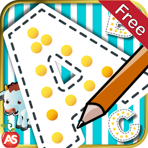 Trace Write Letters abc icon