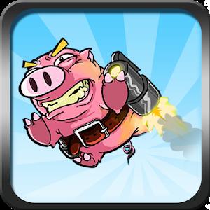 Jetpack Pig icon