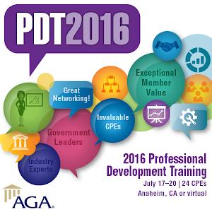 AGA's 2016 PDT icon