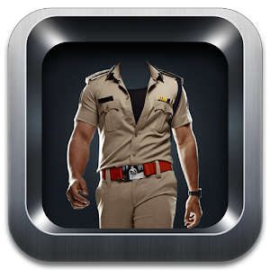 My Police Suit Photo Maker icon