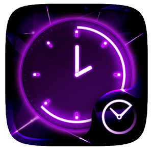 Glow GO Clock Theme icon