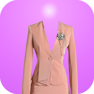 Women Suit Photo Montage icon