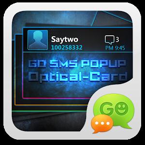 GO SMS Pro OpticalCard Pop Thx icon