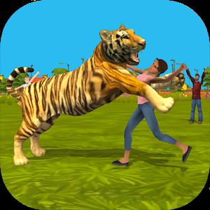 Tiger Rampage Simulator 3D icon