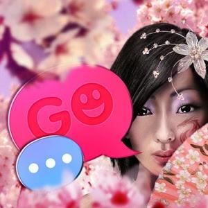 Japan Girl GO SMS Pro icon