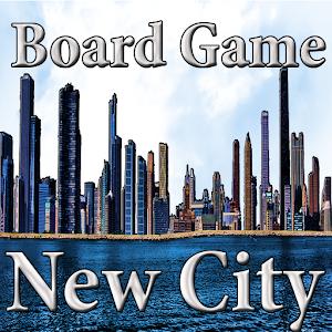 "Board Game ""New City"" icon"