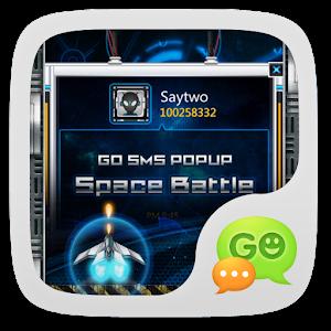 GO SMS Pro SpaceBattle Pop Thx icon