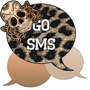 GO SMS - Sugar Skullz 2 icon