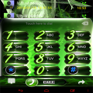 Green Flame GO Contacts EX icon