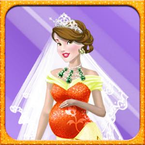 Wedding Pregnant Dressup icon