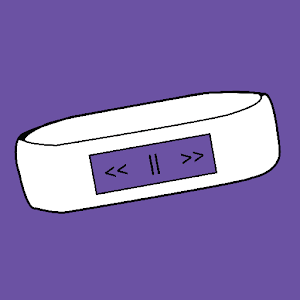 MediaPlayer for Microsoft Band icon