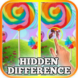 Find Differences Candy World icon
