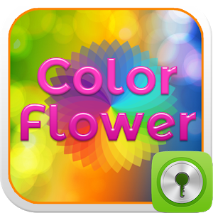 Color Flower Locker icon