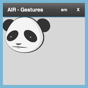 AIR Gestures demo icon