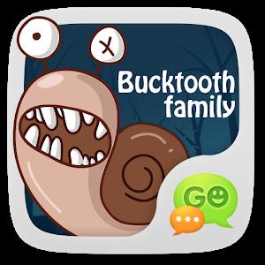 GO SMS Pro BuckTooth Sticker icon
