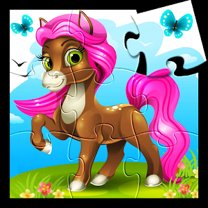 Little Pony Kids Jigsaw Puzzle icon