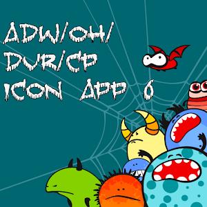 Icon App 6 ADW/OH/DVR/CP icon