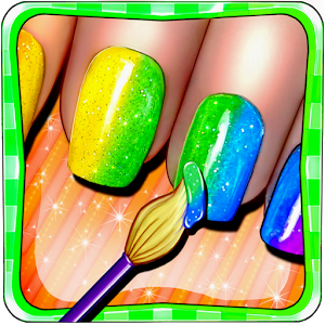 Princess Nail Salon Makeover icon