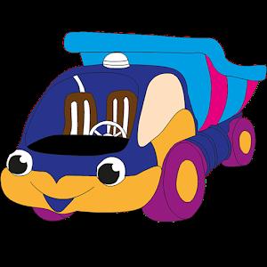 Child Car Coloring icon