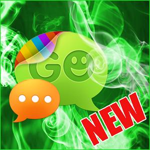 Green Smoke Theme for GO SMS icon