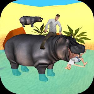 Hippo Attack Simulator 3D icon