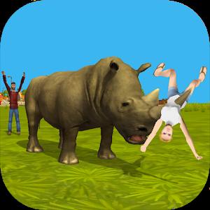 Rhino Simulator 3D icon