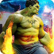 Real Monster City Battle Free Game icon