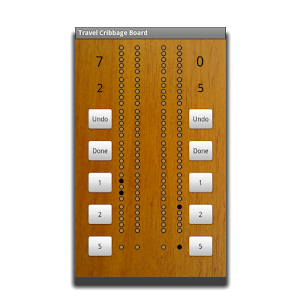 Travel Cribbage Board AS icon