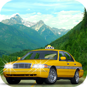 Offroad Hill Taxi Driving Game icon
