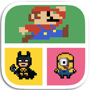 Guess: Pixel Character Quiz icon