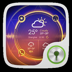 Light Wave GO Locker Theme icon