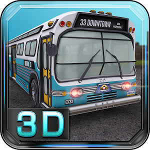 American Bus 3D Parking icon
