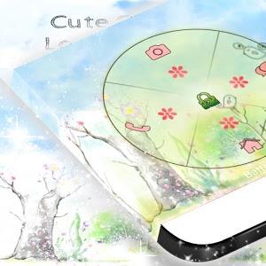 Cute Garden Locker Theme icon