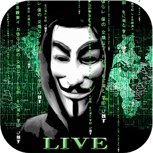 Anonymous Live Wallpaper Hack icon