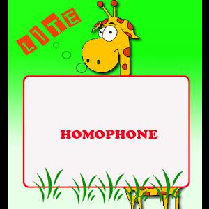Homophones Lite icon