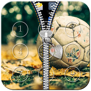 Football Zipper Lock icon