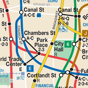 Map New York Offline.Nyc Subway Offline Map Train Times For New York Apprecs